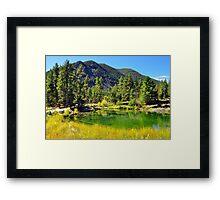 Wild Bill Lake Framed Print