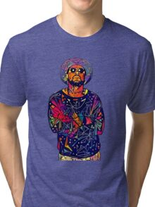 Abstract Schoolboy Q Tri-blend T-Shirt