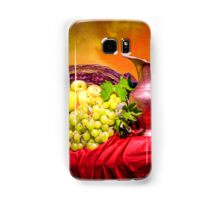 Copper jug and grapes  Samsung Galaxy Case/Skin