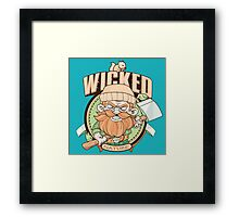Wicked Nature! Framed Print
