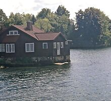 Summer Cottage, 1000 Islands, NY, USA by Shulie1