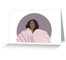 Solange Knowles Greeting Card