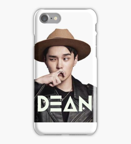 DEAN KPOP MERCHANDISE iPhone Case/Skin