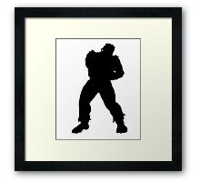 Ryu - Left side Framed Print