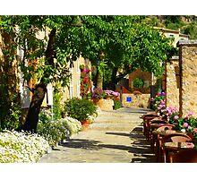 La Residencia Garden Path......................Majorca Photographic Print