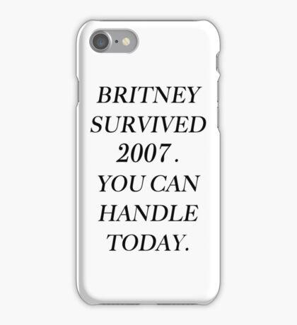 Britney Spears 2007 iPhone Case/Skin