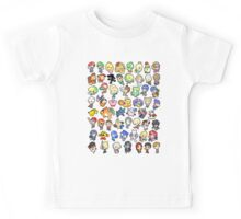Super Smash Bros. All 58 Characters!! Kids Tee