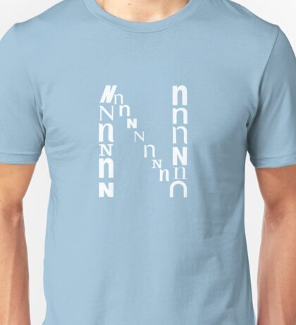 Found Letters - N Unisex T-Shirt