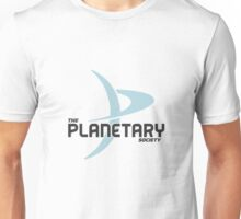 """The Planetary Society"" - blue ""P"" Unisex T-Shirt"