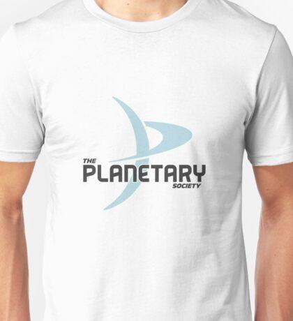 """The Planetary Society"" - blue ""P"" Unisex T-Shirt"