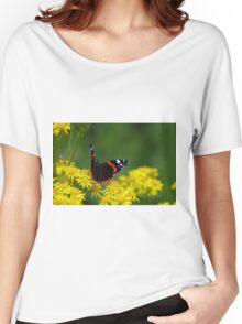 Red Admiral Butterfly Women's Relaxed Fit T-Shirt