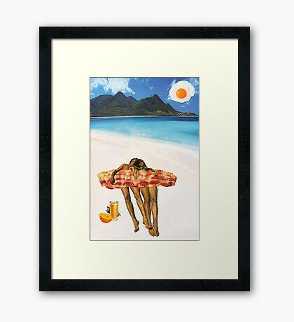 Unrequited Fantasies Framed Print