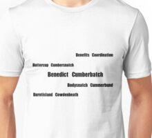 Benedict Cumberbatch - Mispronouncing Unisex T-Shirt