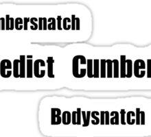 Benedict Cumberbatch - Mispronouncing Sticker