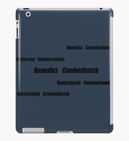 Benedict Cumberbatch - Mispronouncing iPad Case/Skin