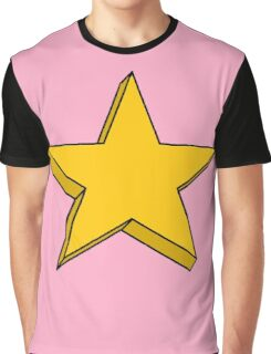 Simple Graphic Star Graphic T-Shirt