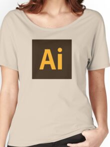 Adobe Illustrator Icon Women's Relaxed Fit T-Shirt