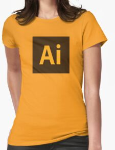 Adobe Illustrator Icon Womens Fitted T-Shirt