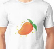 Juicy Mango Fruit Watercolor Unisex T-Shirt