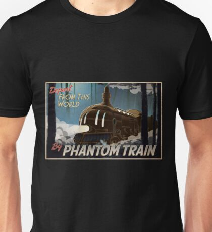 Final Fantasy VI - Come Ride the Phantom Train Unisex T-Shirt