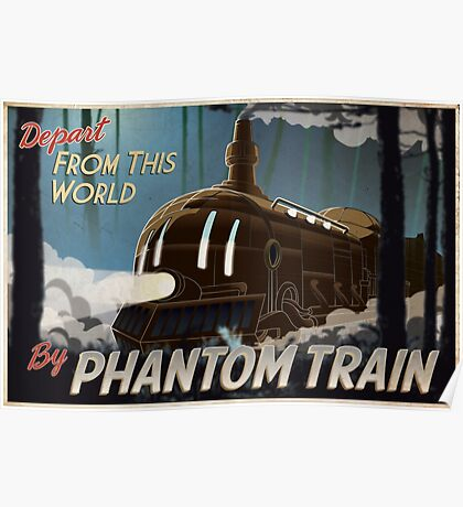 Final Fantasy VI - Come Ride the Phantom Train Poster