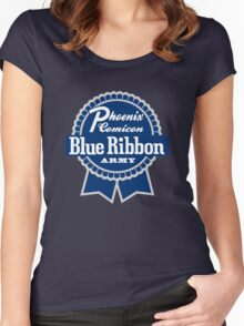 Blue Ribbon Army Women's Fitted Scoop T-Shirt