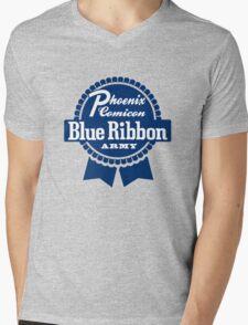 Blue Ribbon Army Mens V-Neck T-Shirt