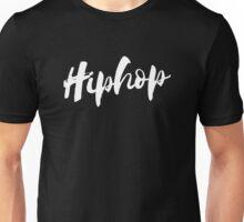 Hiphop - White Unisex T-Shirt
