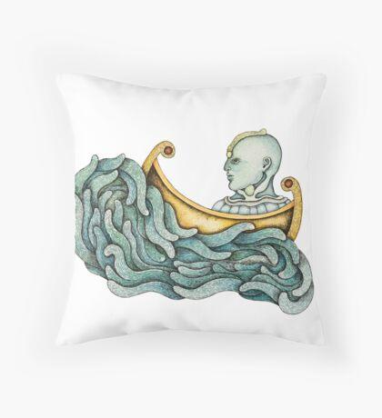 El Navegante Throw Pillow