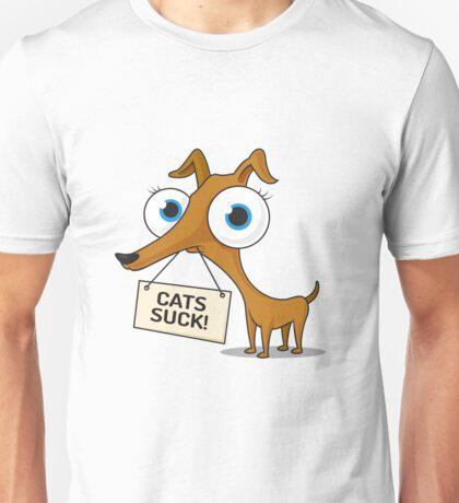 Cats Suck Unisex T-Shirt