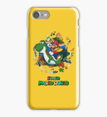 Super Mario World Logo iPhone Case/Skin