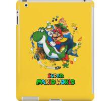Super Mario World Logo iPad Case/Skin