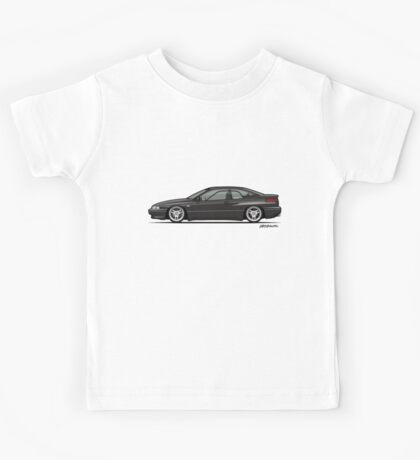 Ebony Mica black Subaru Alcyone SVX Kids Tee