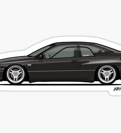 Ebony Mica black Subaru Alcyone SVX Sticker