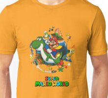 Super Mario World Logo Unisex T-Shirt