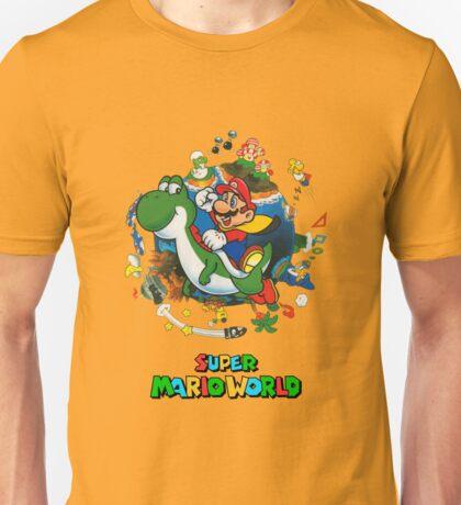 Super Mario World Logo Unisex T-Shirt
