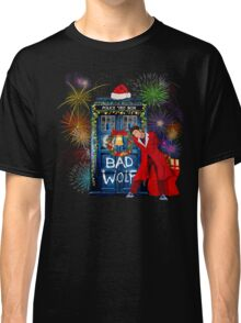 Happy New year from 10th Doctor Classic T-Shirt