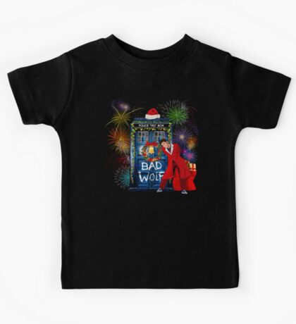 Happy New year from 10th Doctor Kids Tee
