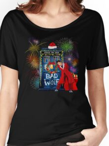 Happy New year from 10th Doctor Women's Relaxed Fit T-Shirt