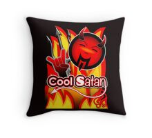 Cool Satan Throw Pillow