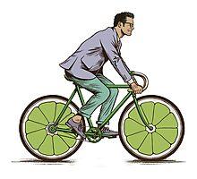 Vélo fruit  Photographic Print