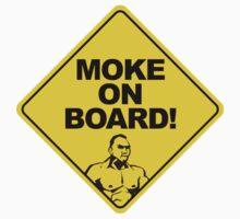 Moke On Board Baby Tee
