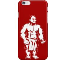 Big Moke (for dark backgrounds) iPhone Case/Skin