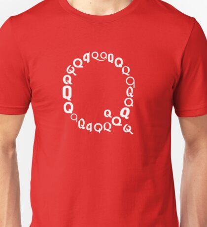 Found Letters - Q Unisex T-Shirt