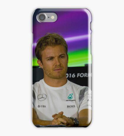 Nico Rosberg Mercedes formula 1 iPhone Case/Skin