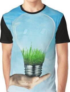 Save Green Graphic T-Shirt