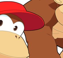 Super Smash Bros. Donkey Kong and Diddy Kong Sticker