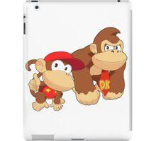 Super Smash Bros. Donkey Kong and Diddy Kong iPad Case/Skin