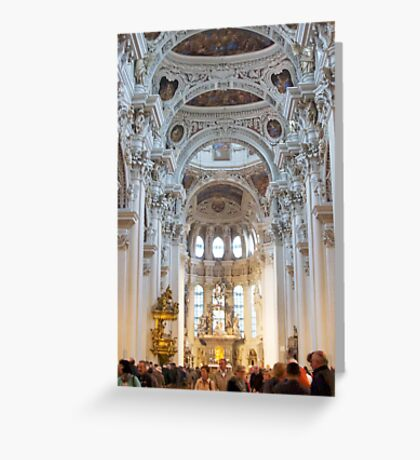Arches Of Lyon Greeting Card