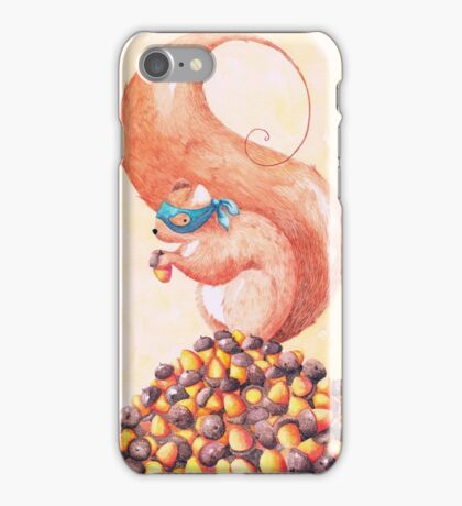 The Bandit Squirrel iPhone Case/Skin